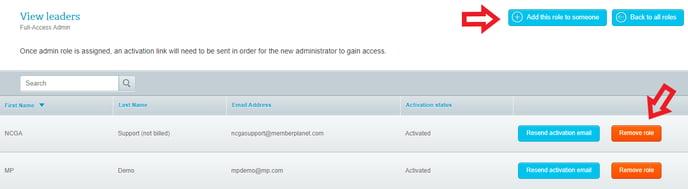 Snippet admin add or remove